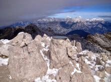In vetta al monte Nero