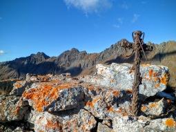 Croce di vetta del monte Navagiust