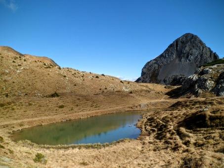 Lago Pera presso sella di Sissanis