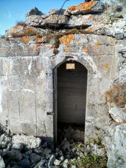 Osservatorio militare presso monte Navagiust