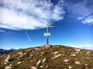Croce di vetta del monte Cocco