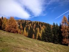 Panorama verso monte cima Bella