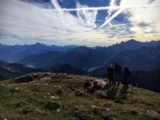 Panorama verso monte Lussari