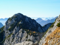 Monte Gosadon dal ricovero Bernardinis
