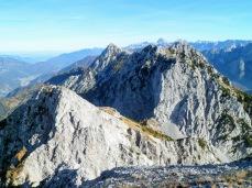 Cima Vildiver (a sx) e monte Piper (a dx)