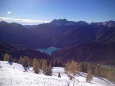 Lago di Sauris e monte Tinisa