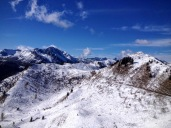 Panorama verso sella Festons