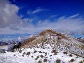 Si sale alla cima del monte Morgenleit