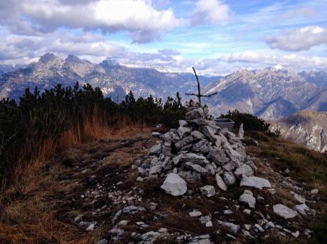 Cima del monte Provagna
