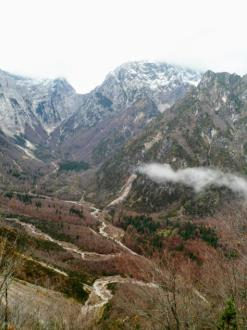 Panorama sulla val Chialedina