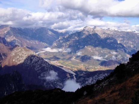 Panorama verso Claut