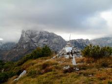 Croce di vetta del monte Provagna