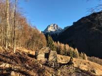 Monte Duranno sullo sfondo