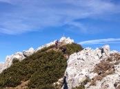 Lungo la cresta di Creta dai Rusei.