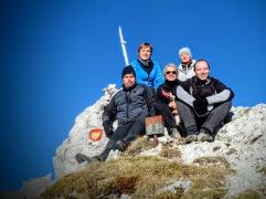 Il gruppetto di oggi: pres, Genny, Barbara, Eliana e Denis.