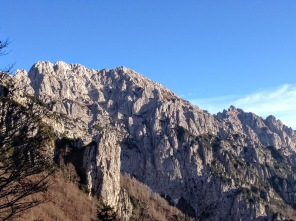 Luci pomeridiane sul Monte Chavals.
