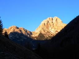 Monte Duranno al tramonto