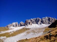 Versante sud del monte Cavallino