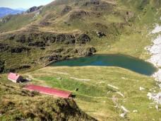 Casera Pramosio Alta e lago Avostanis