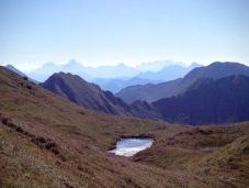 Panorama verso le Alipi Giulie