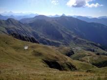 Panorama verso monte Pramosio
