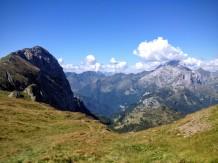 Creta du Timau e monte Coglians
