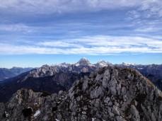 Panorama verso il Mangart