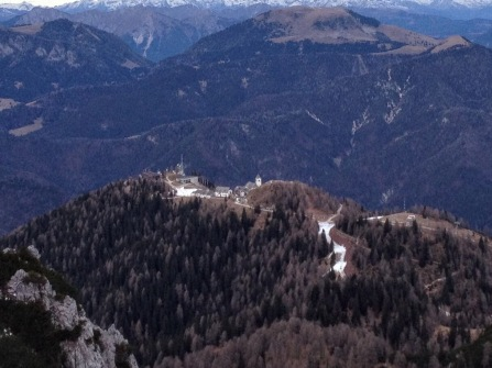 Monte Lussari e il borgo Lussari