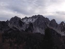 Cima del Cacciatore vista dal Lussari.