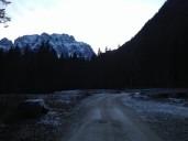Il ponte in Val Saisera.