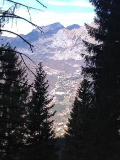 La valle del But vista dal sentiero Cai 408.