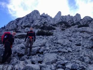 Il versante nord del Monte Cucco.