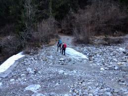 Attraversamento del Rio Randice.