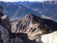 In primo piano, il Monte Rivo.