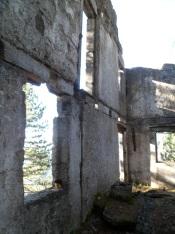 Resti della sede del Comando del btg. alp. Val Fella
