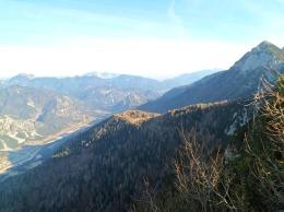 Panorama verso la val Canale