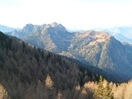 Panroama verso Monte Schenone e malga San Leopoldo