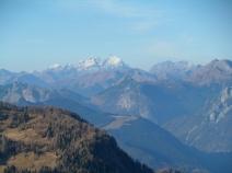 Panorama verso monte Coglians