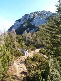 Sentiero CAI 649 verso il Cuel dei Pez