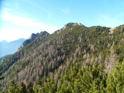 Panorama verso monte Sechieiz