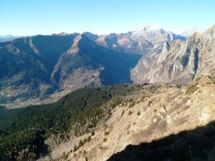 Panorama verso Coglians