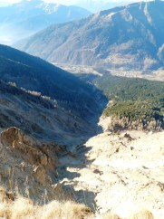 Frana del rio Moscardo