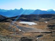 Panorama verso monti Tersadia e Sernio