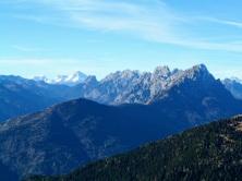 Panorama verso Dolomiti Pesarine