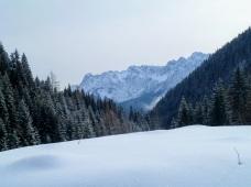 Panorama verso monte Rinaldo