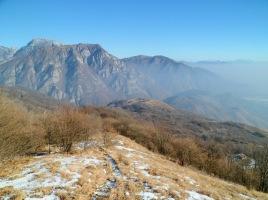 Panorama verso il monte Fara