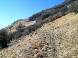 Sul sentiero CAI 988