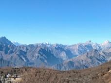 Panorama verso il monte Pelmo