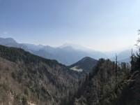 Panorama verso casera Glazzat bassa