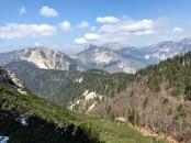 Panorama verso monte Salinchiet